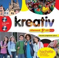 Katrin Goldmann - Allemand 5e LV2 A1/A2 Kreativ. 2 CD audio