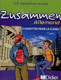 Norbert Biscons - Allemand LV2 2e année Zusammen - 2 cassettes pour la classe.