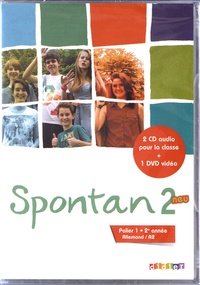 Valérie Achekian et Monika Gorgii - Allemand Palier 1 2e année A2 Spontan 2 neu. 1 DVD + 2 CD audio