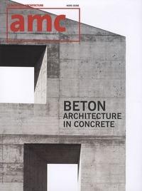 Maryse Quinton - AMC Hors série : Béton - Architecture in concrete.
