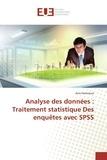 Anis Hamrouni - Analyse des données : traitement statistique des enquêtes avec SPSS.