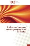 Mustapha Bahich - Analyse des images en métrologie optique par ondelettes.