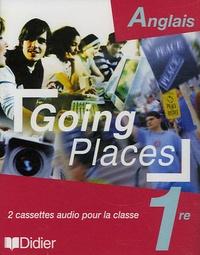 Didier - Anglais 1e Going Places - 2 cassettes audio pour la classe.