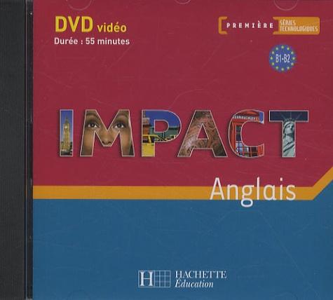 Hachette Education - Anglais 1e séries technologiques Impact - DVD vidéo.
