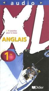 Didier - Anglais 1e XL - 4 cassettes audio pour la classe.
