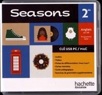 Hachette Education - Anglais 2de A2>B1 Seasons. 1 Clé Usb