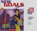 Patrick Aubriet et Annick Billaud - Anglais 2e Bac pro 3 ans New Goals Plus - 2 CD audio.