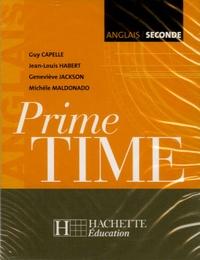 Guy Capelle et Jean-Louis Habert - Anglais 2e Prime Time - 2 cassettes audio.