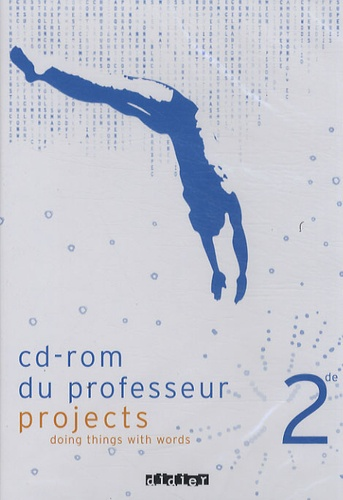 Didier - Anglais 2e Projects - CD-ROM du professeur.