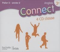 Marc Roussel - Anglais 3e Connect. 4 CD audio