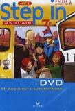 Nathalie Hollinka-Rousselle - Anglais 3e Let's step in - DVD vidéo.