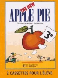 Françoise Lemarchand et Kathleen Julié - Anglais 3e LV1 The New Apple Pie - Cassettes pour l'élève. 2 Cassette audio