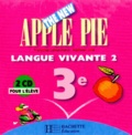 Françoise Lemarchand et Kathleen Julié - Anglais 3e LV2 The New Apple Pie - 2 CD pour l'élève.