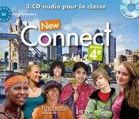Wendy Benoit - Anglais 4e A2 palier 2 année 1 New Connect. 3 CD audio