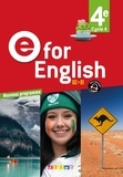 Didier - Anglais 4e Cycle 4 E for English. 1 DVD + 2 CD audio