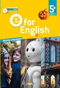 Didier - Anglais 5e Cycle 4 E for English. 1 DVD + 2 CD audio