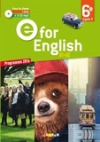 Mélanie Herment et Virginie Bordat - Anglais 6e E for English A1-A2. 1 DVD + 2 CD audio
