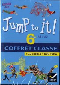 Vincent Beckmann et Martine Bordron - Anglais 6e Jump to it !. 1 DVD + 1 CD audio