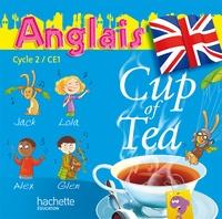 Gisèle Albagnac - Anglais Cycle 2 CE1 Cup of Tea. 2 CD audio