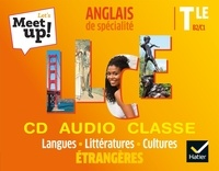 Erwan Gouraud - Anglais de spécialité Tle LLCE B2/C1 Let's Meet up!. 1 CD audio