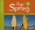 Françoise Lemarchand et Kathleen Julié - Anglais New Spring 3e - 4 CD audio classe.
