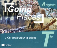 Didier - Anglais Tle Going Places - 3 CD audio pour la classe.