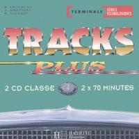 Brigitte Lallement et J Martinez - Anglais Tracks plus Tle séries technologiques - 2 CD audio classe.