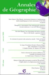 Armand Colin - Annales de géographie n° 612 Mars-Avril 2000.