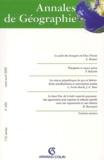 Armand Colin - Annales de Géographie N° 630 Mars-Avril 2003.