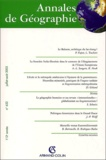 Pierre Papon et Laurent Touchard - Annales de Géographie N° 632 Jullet-Août 2 : .