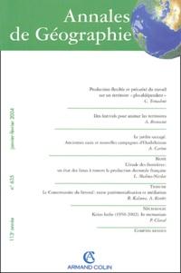 Claudia Tomadoni et Arnaud Brennetot - Annales de Géographie N° 635 Janvier-Févri : .