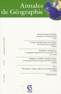 A Beyer - Annales de Géographie N° 657, septembre-oc : .