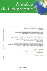 Nathalie Jouven et Antoine Beyer - Annales de Géographie N° 681, septembre-oc : .