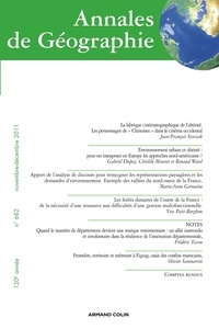 Jean-François Staszak et Gabriel Dupuy - Annales de Géographie N° 682, Novembre-déc : .