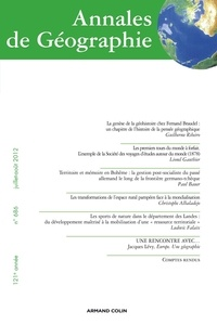 Olivier Lazzarotti - Annales de Géographie N° 686, juillet-août : .
