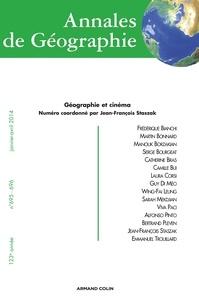 Jean-François Staszak - Annales de Géographie N° 695-696, Janvier- : Géographie et cinéma.