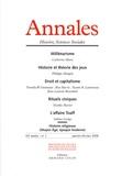 Catherine Maire et Philippe Mongin - Annales Histoire, Sciences Sociales N° 1, Janvier-févrie : .