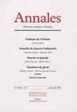 Claude Calame et Christian Topalov - Annales Histoire, Sciences Sociales N° 3, Mai-Juin 2006 : .