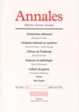 Alexandre Escudier et Gérard Fussman - Annales Histoire, Sciences Sociales N° 4 58e année Juill : .
