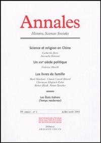 Catherine Jami - Annales Histoire, Sciences Sociales N° 4 : .