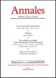 Armand Colin - Annales Histoire, Sciences Sociales N° 6 Novembre-Décembre 2001.