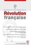 Aurélien Lignereux - Annales historiques de la Révolution française N° 392, avril-juin 2 : .