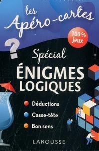 Larousse - Apéro-cartes spécial énigmes logiques - Avec 80 cartes.