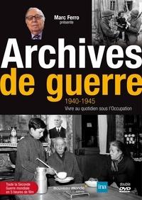Marc Ferro - Archives de guerre (1940-1945) - Vivre au quotidien sous l'Occupation. 2 DVD