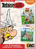 Albert Uderzo et René Goscinny - Astérix - La BD audio Tome 1 : Astérix le Gaulois ; La serpe d'or. 2 CD audio