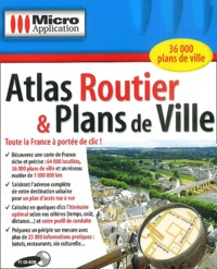 Editions Micro Application - Atlas Routiers et Plans de ville - CD-ROM.