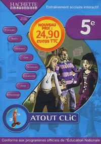Hachette Multimédia - Atout clic 5e - CD-ROM.