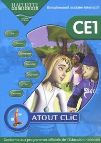 Hachette Multimédia - Atout Clic CE1 - CD-ROM.