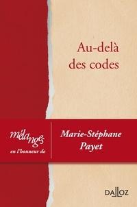 Nicolas Binctin et Nathalie Blanc - Au-delà des codes - Mélanges en l'honneur de Marie-Stéphane Payet.