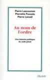 Pierre Lenoël et Pierre Lascoumes - .
